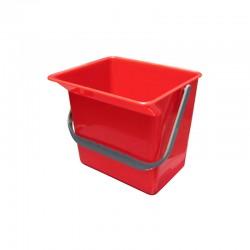 意大利施达 CTA 126R 12公升水桶,红色