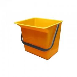 意大利施達 CTA 126Y 12公升水桶,黃色