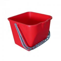 意大利施达 CTA 15R 15公升水桶,红色