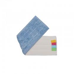 意大利施达 FMR A44 超细纤维平板拖把尘推替换拖布 平拖头 干湿两用微纤平拖布 A款布 44cm