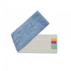 意大利施达 FMR A54 超细纤维平板拖把尘推替换拖布 平拖头 干湿两用微纤平拖布 A款布 54cm