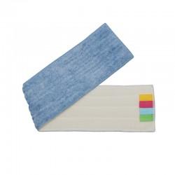 意大利施达 FMR A64 超细纤维平板拖把尘推替换拖布 平拖头 干湿两用微纤平拖布 A款布 64cm