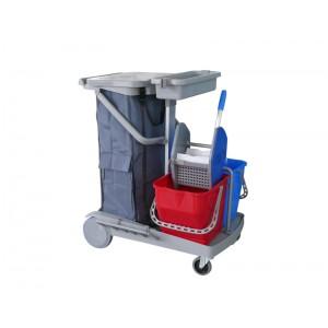 施達 輕巧型雙桶榨水清潔服務車