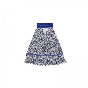 施達 棉排拖頭替換裝 12cm網布 450g 藍白色