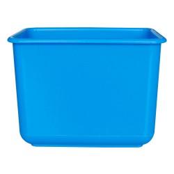 施達 塑膠小方兜 藍色