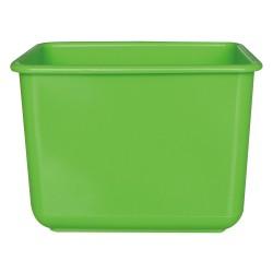 施達 塑膠小方兜 綠色