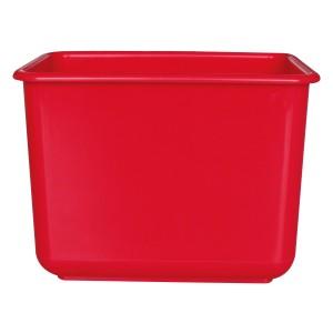 施達 塑膠小方兜 紅色