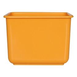 施達 塑膠小方兜  黃色