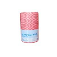 意大利施达 NW 0451523/RW 经济易洁布 一次性平拖布抹布 吸水不掉毛无纺布清洁擦布 红白色