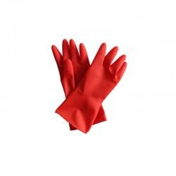 意大利施达 RG 7090S/R 胶手套 家务耐用防滑橡胶手套 小码 红色