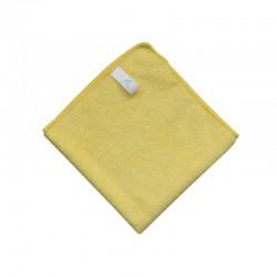 義大利施達 VM 304040Y 微纖清潔布(10條裝) 超細纖維抹布 不掉毛吸水毛巾擦布 40x40cm 黃色
